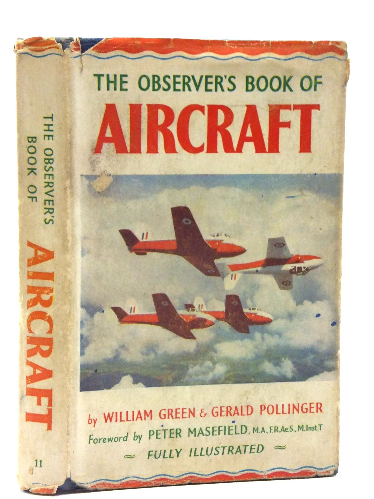 Photo of THE OBSERVER'S BOOK OF AIRCRAFT written by Green, William<br />Pollinger, Gerald published by Frederick Warne &amp; Co Ltd. (STOCK CODE: 1607920)  for sale by Stella & Rose's Books