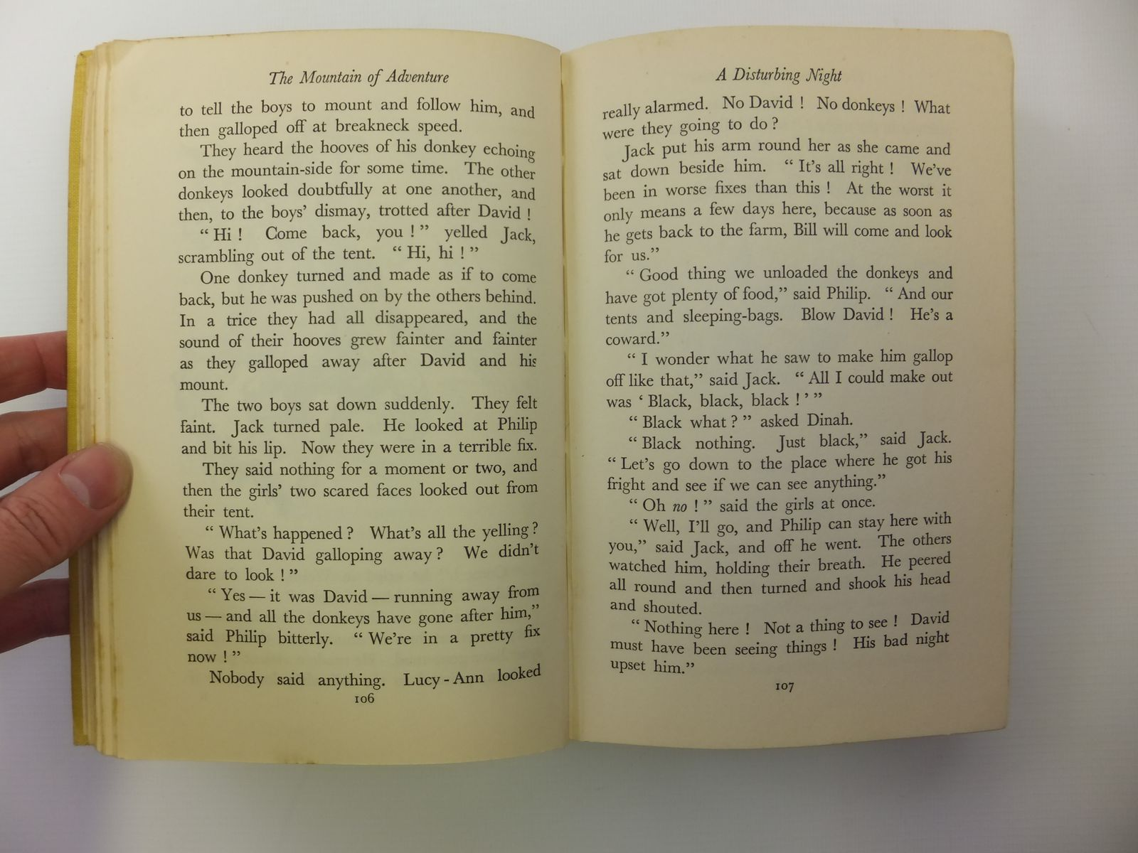Photo of THE MOUNTAIN OF ADVENTURE written by Blyton, Enid illustrated by Tresilian, Stuart published by Macmillan & Co. Ltd. (STOCK CODE: 1608020)  for sale by Stella & Rose's Books