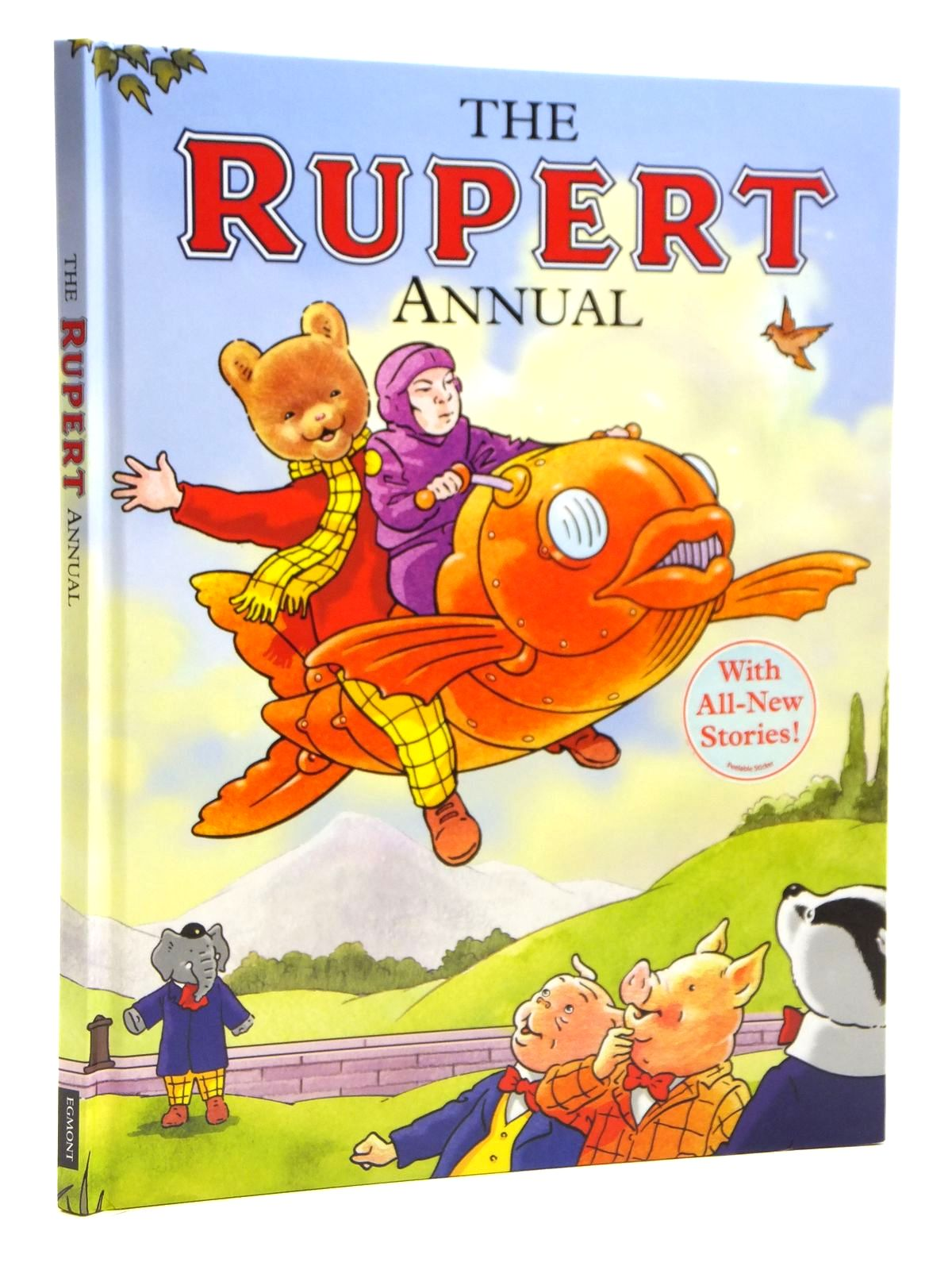 Photo of RUPERT ANNUAL 2009 written by Trotter, Stuart illustrated by Trotter, Stuart published by Egmont Books Ltd. (STOCK CODE: 1608047)  for sale by Stella & Rose's Books