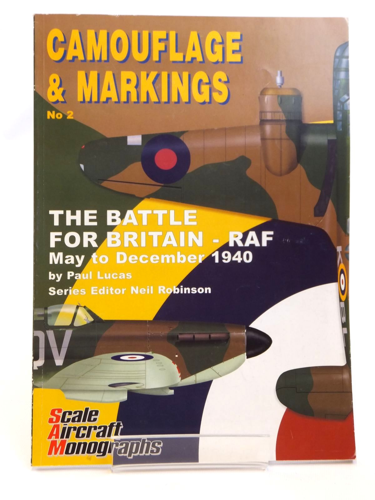 Photo of CAMOUFLAGE & MARKINGS  No. 2 THE BATTLE FOR BRITAIN - RAF MAY TO DECEMBER 1940 written by Lucas, Paul published by Guideline Publications (STOCK CODE: 1608312)  for sale by Stella & Rose's Books