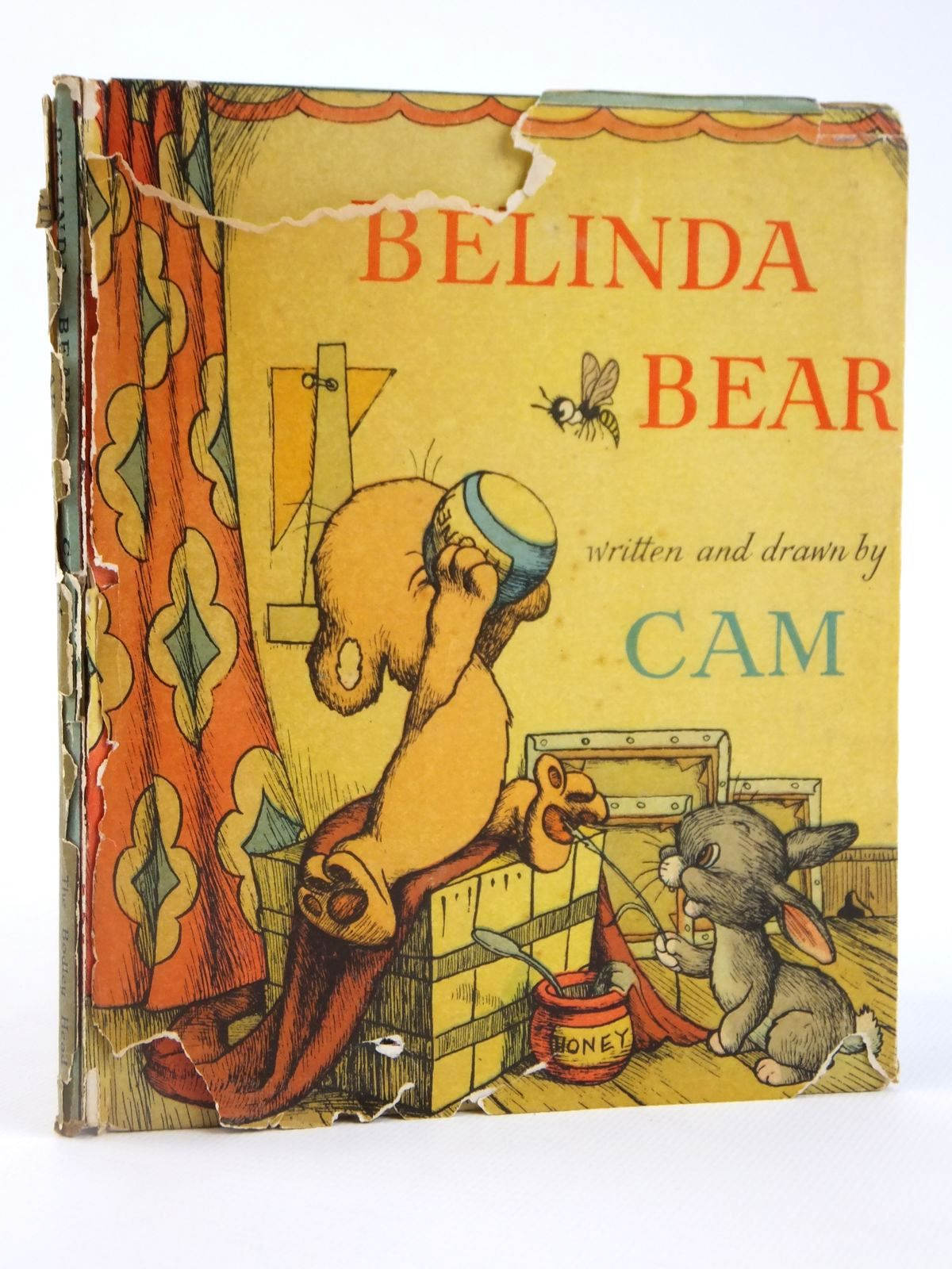 Photo of BELINDA BEAR written by Cam,  illustrated by Cam,  published by The Bodley Head (STOCK CODE: 1608436)  for sale by Stella & Rose's Books