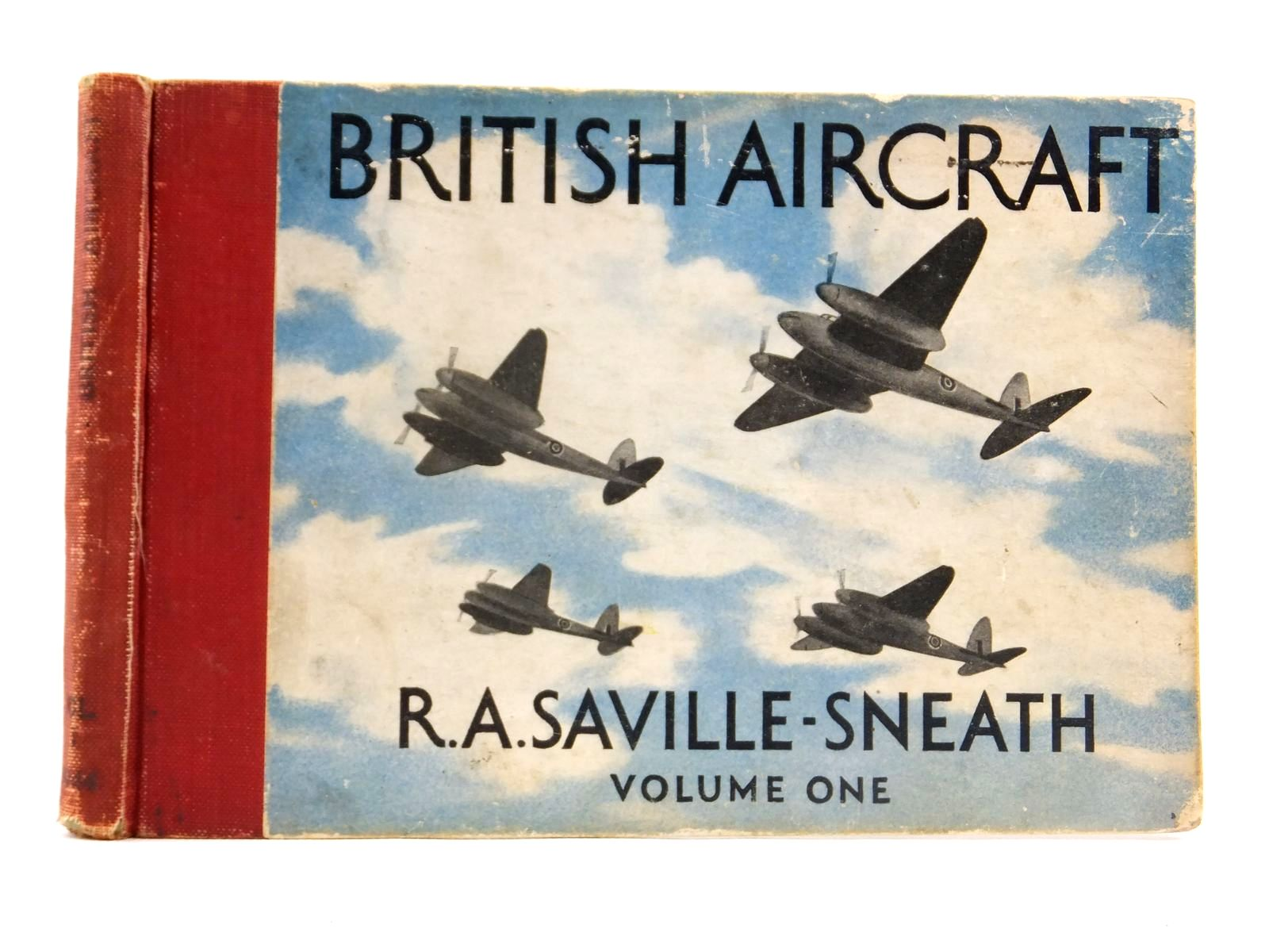 Photo of BRITISH AIRCRAFT VOLUME ONE written by Saville-Sneath, R.A. published by Penguin (STOCK CODE: 1608591)  for sale by Stella & Rose's Books