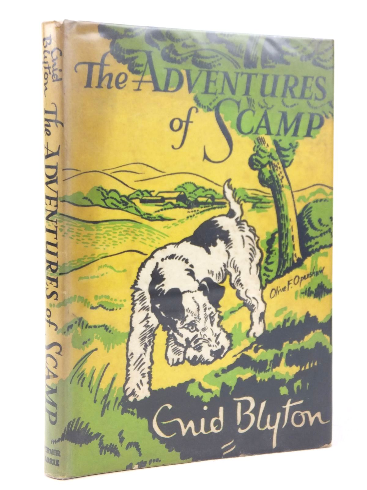 Photo of THE ADVENTURES OF SCAMP written by Blyton, Enid illustrated by Openshaw, Olive F. published by Werner Laurie (STOCK CODE: 1608824)  for sale by Stella & Rose's Books