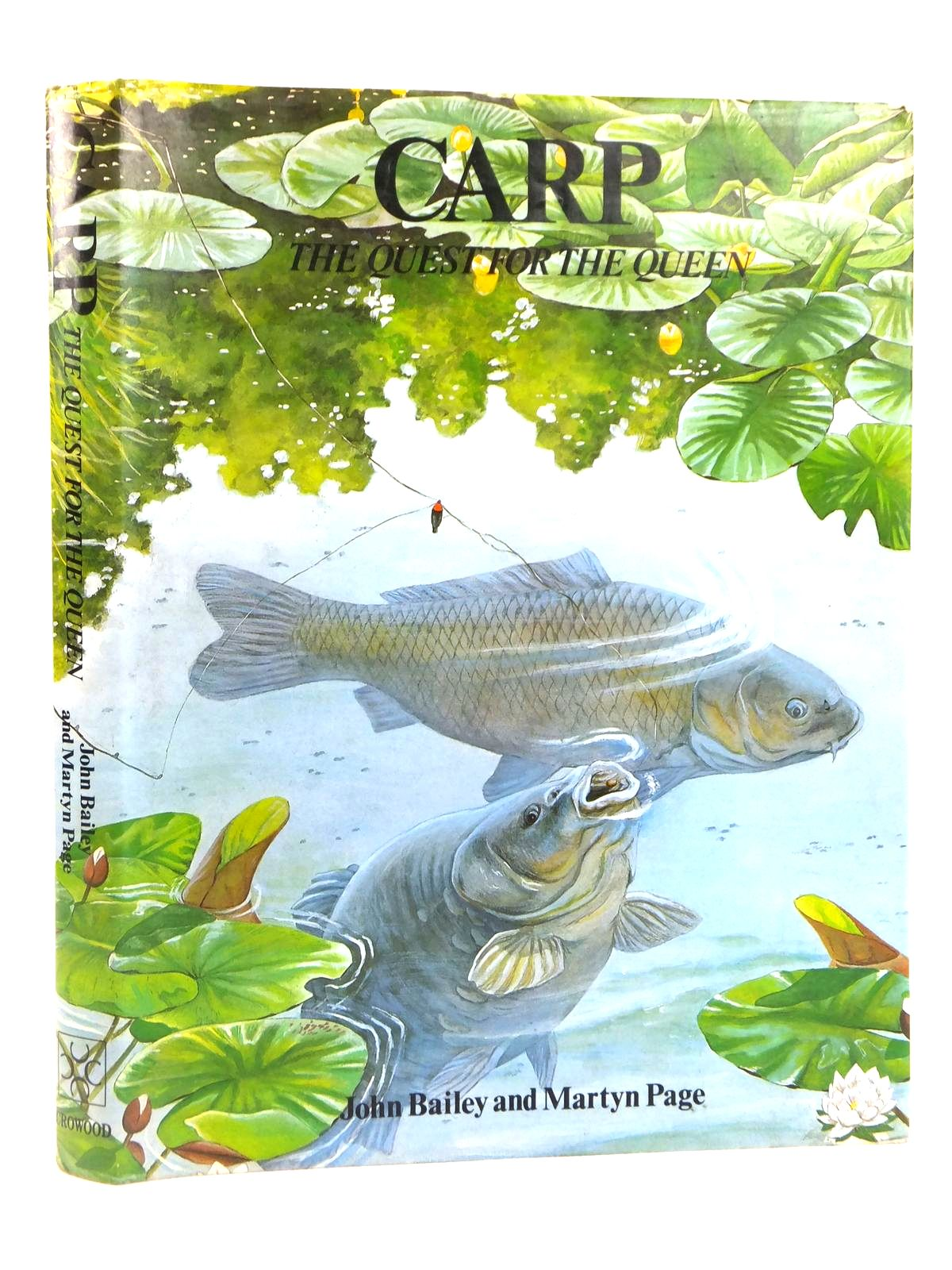 Photo of CARP THE QUEST FOR THE QUEEN written by Bailey, John Page, Martyn published by The Crowood Press (STOCK CODE: 1608867)  for sale by Stella & Rose's Books