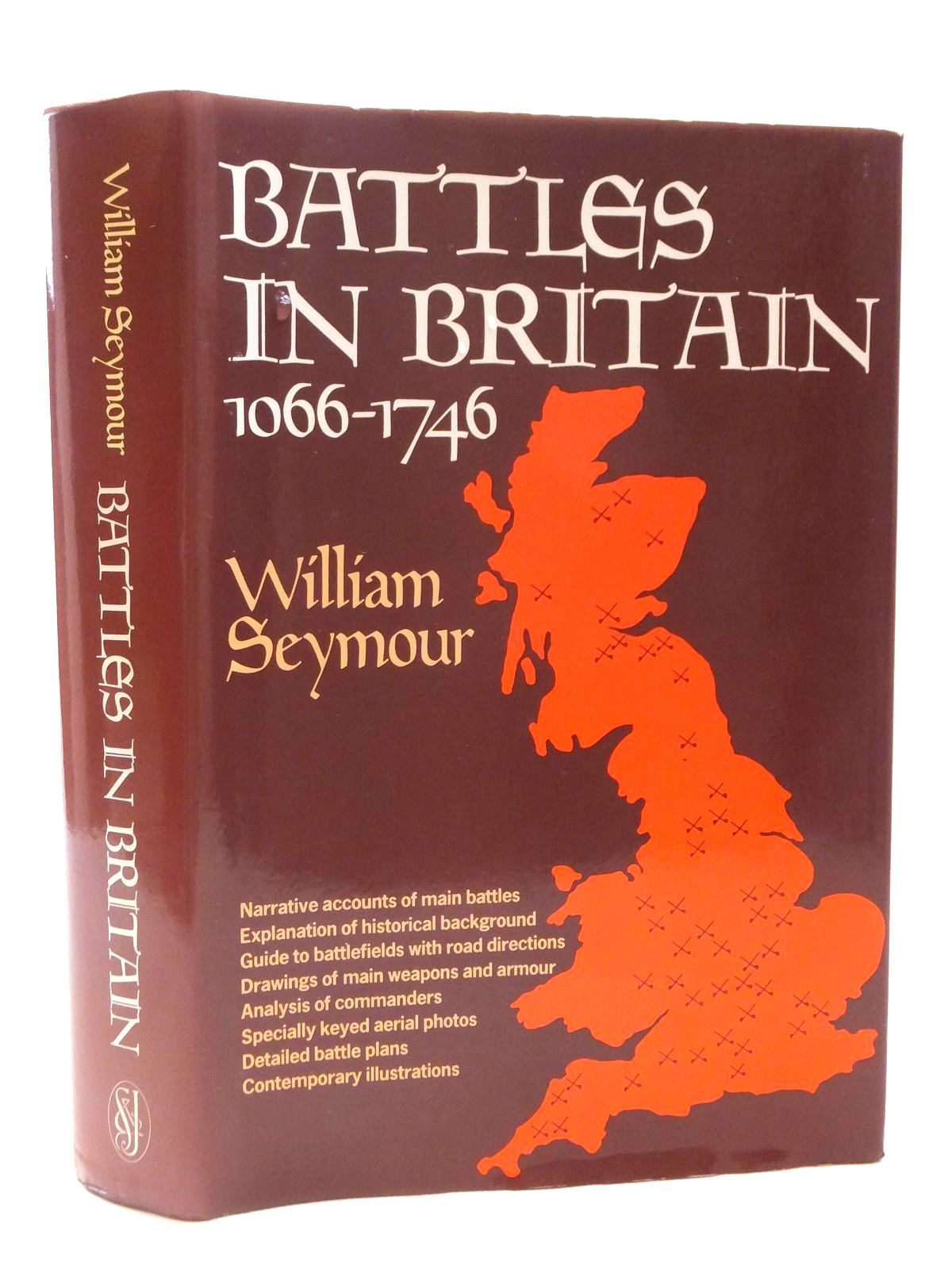 Photo of BATTLES IN BRITAIN AND THEIR POLITICAL BACKGROUND VOLUME 1 1066-1547 written by Seymour, William published by Sidgwick & Jackson (STOCK CODE: 1608917)  for sale by Stella & Rose's Books