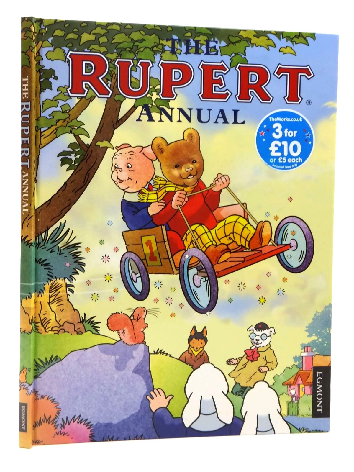 Photo of RUPERT ANNUAL 2013 illustrated by Bestall, Alfred<br />Ash, Enid<br />Trotter, Stuart<br />Harrold, John published by Egmont Uk Limited (STOCK CODE: 1608937)  for sale by Stella & Rose's Books