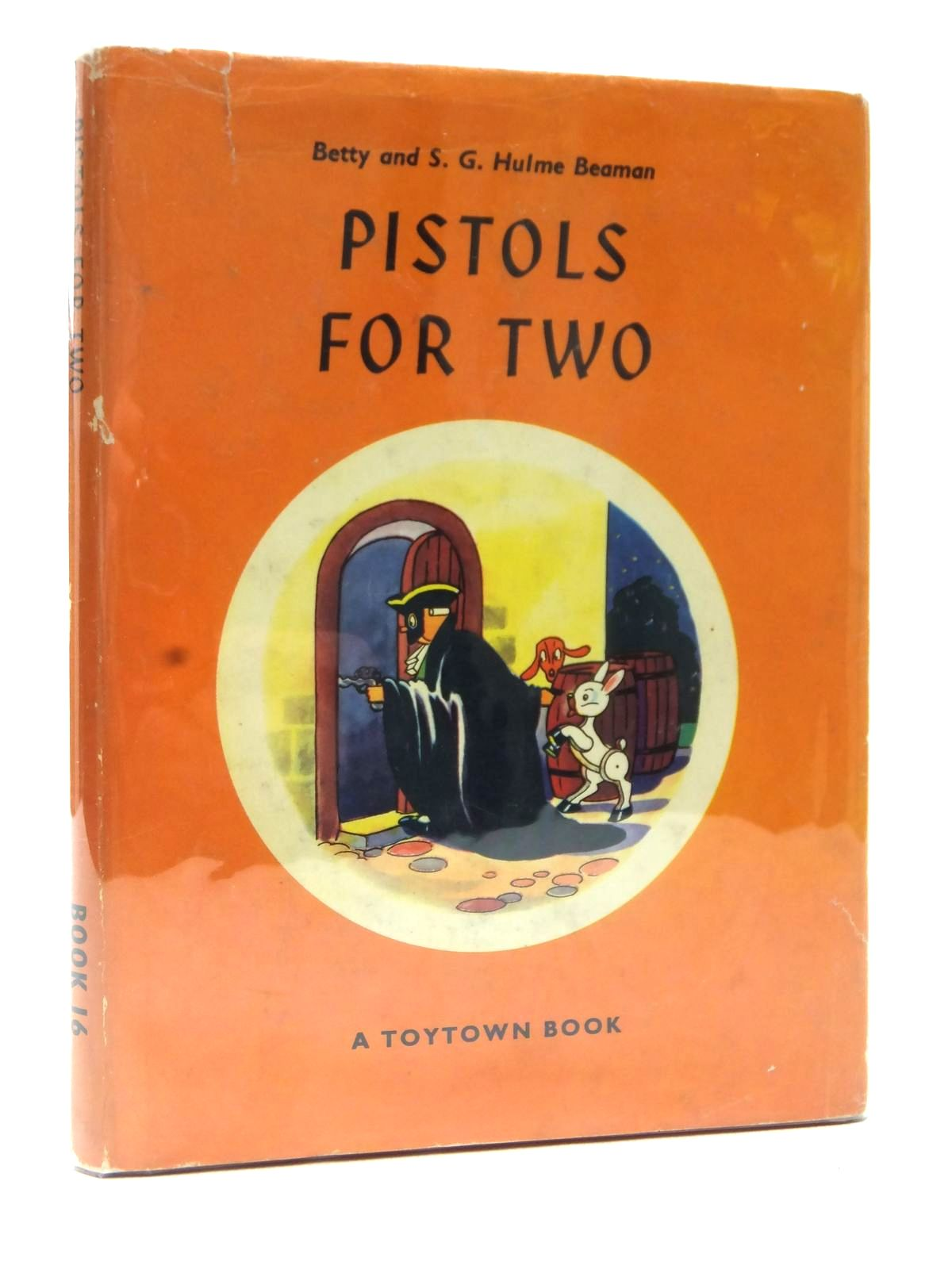 Photo of PISTOLS FOR TWO written by Beaman, S.G. Hulme Beaman, Betty Hulme illustrated by Lovell, Kenneth published by Oldbourne Book Co. Ltd. (STOCK CODE: 1609178)  for sale by Stella & Rose's Books