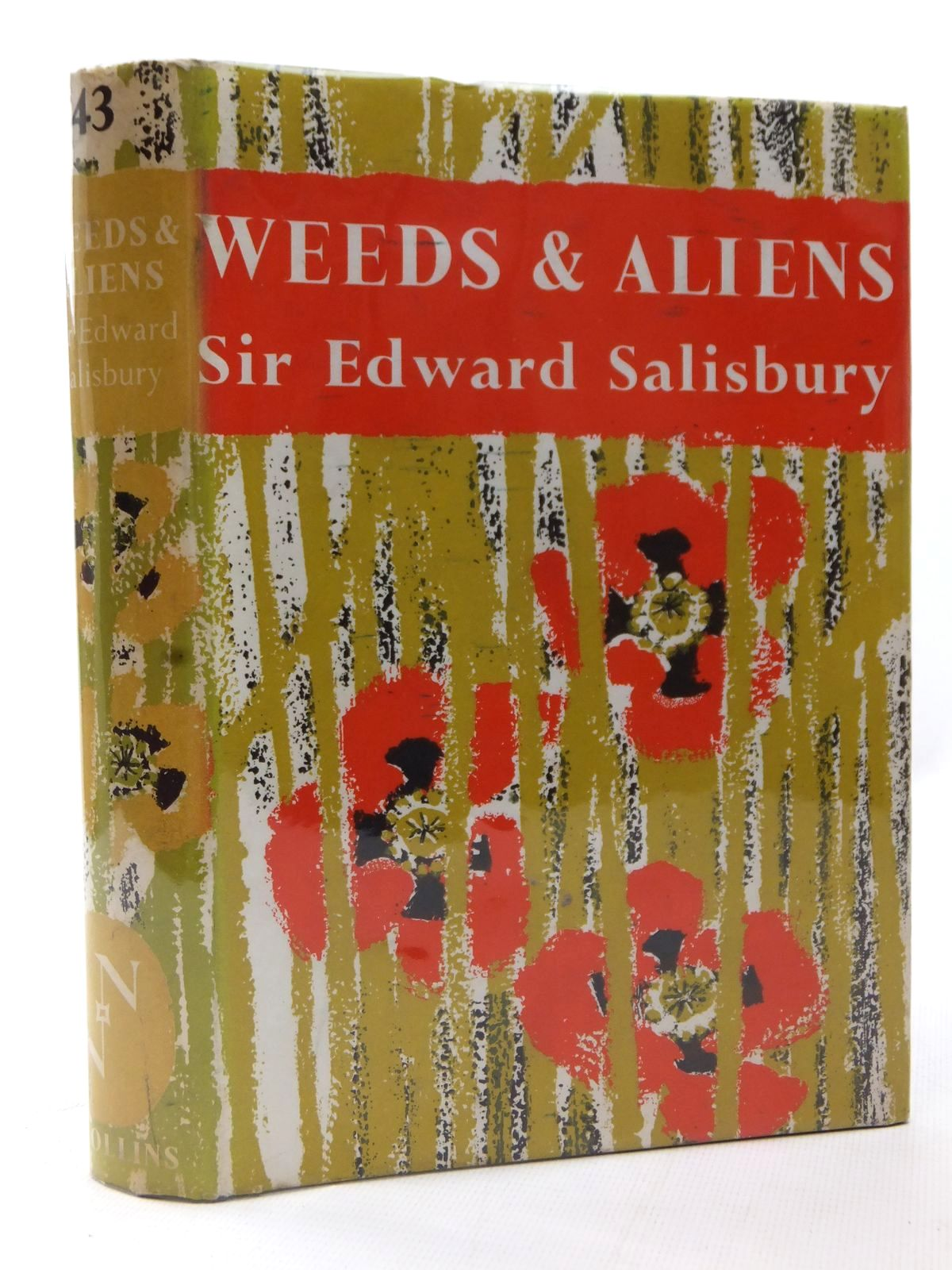 Photo of WEEDS & ALIENS (NN 43) written by Salisbury, Edward published by Collins (STOCK CODE: 1609184)  for sale by Stella & Rose's Books