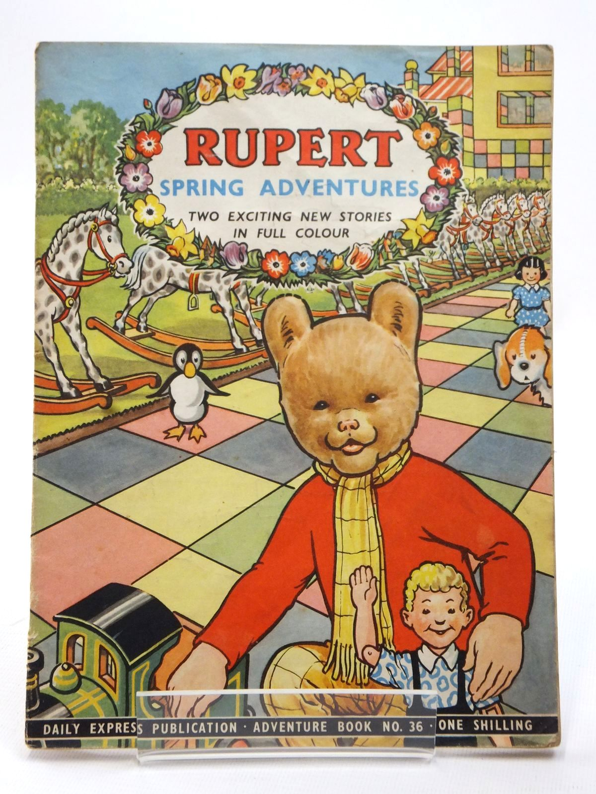 Photo of RUPERT ADVENTURE BOOK No. 36 - SPRING ADVENTURES written by Bestall, Alfred published by Daily Express (STOCK CODE: 1609215)  for sale by Stella & Rose's Books