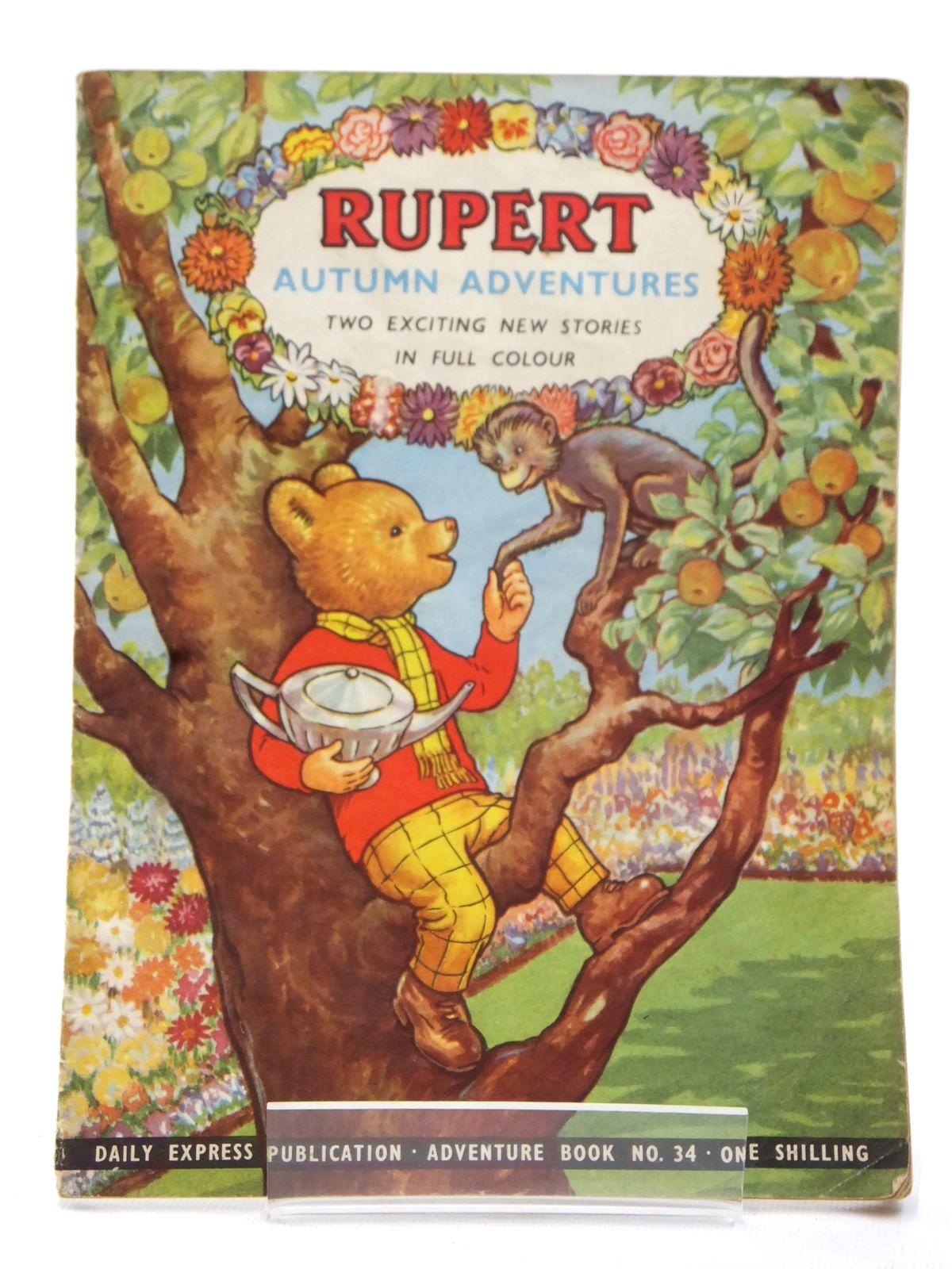 Photo of RUPERT ADVENTURE BOOK No. 34 - AUTUMN ADVENTURES written by Bestall, Alfred published by Daily Express (STOCK CODE: 1609216)  for sale by Stella & Rose's Books