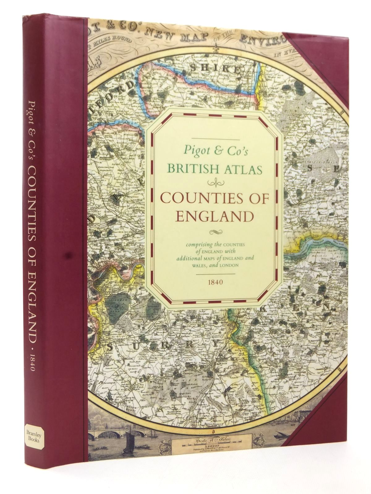 Photo of PIGOT & CO'S BRITISH ATLAS COUNTIES OF ENGLAND published by Bramley Books (STOCK CODE: 1609300)  for sale by Stella & Rose's Books