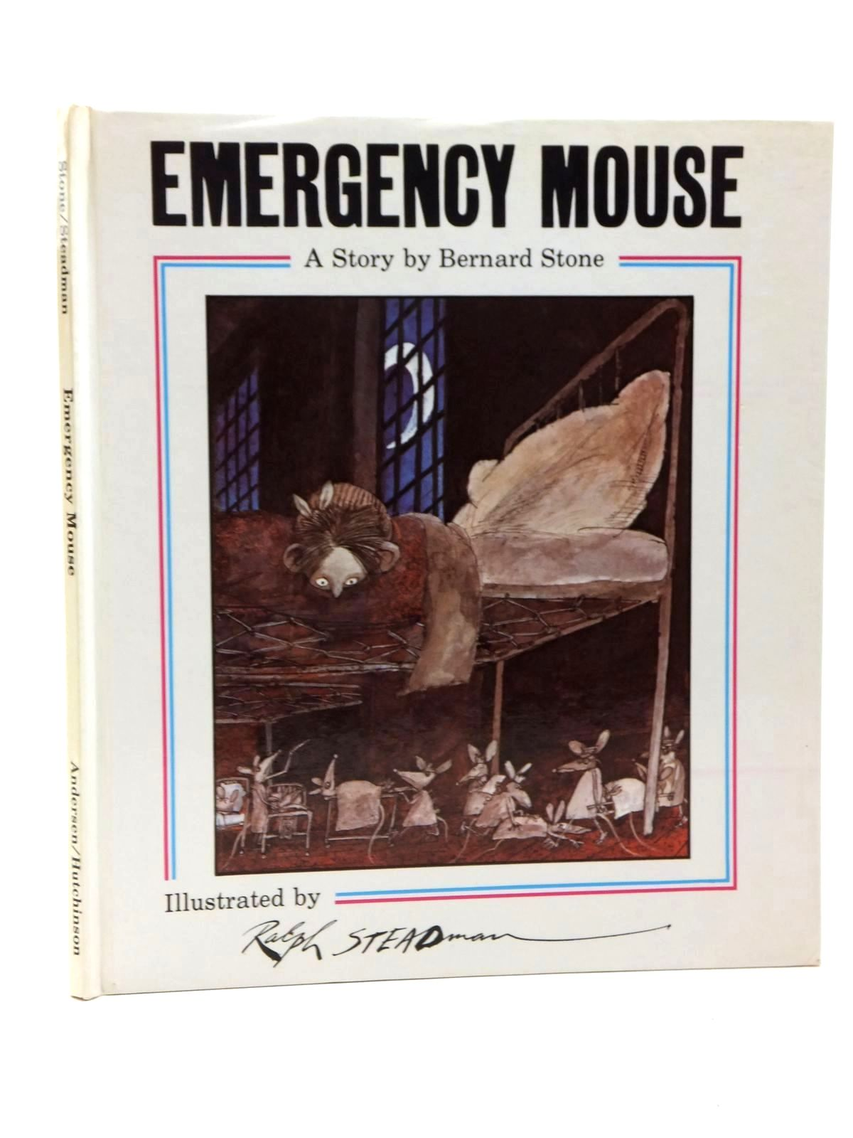 Photo of EMERGENCY MOUSE written by Stone, Bernard illustrated by Steadman, Ralph published by Andersen Press (STOCK CODE: 1609532)  for sale by Stella & Rose's Books