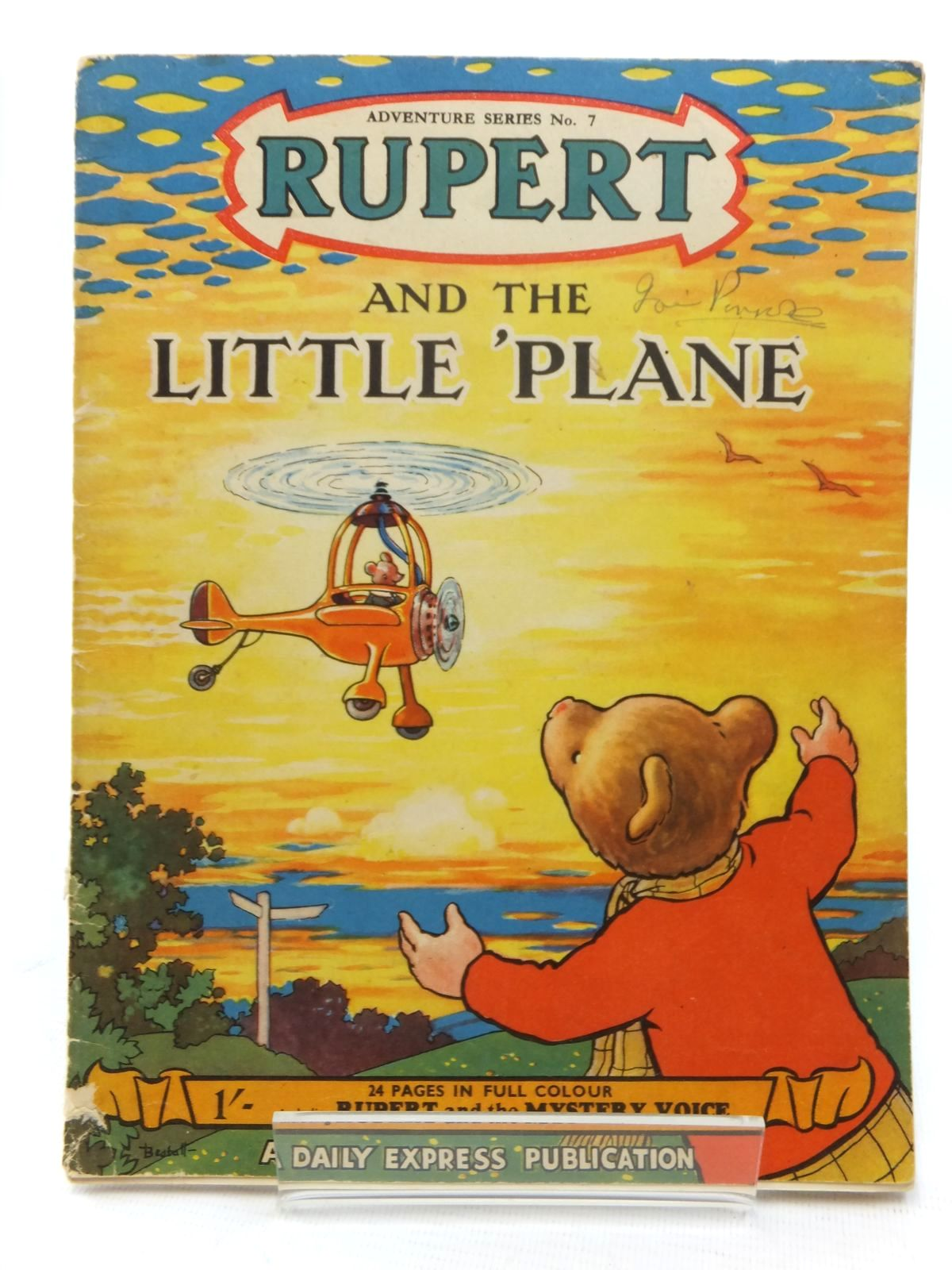 Photo of RUPERT ADVENTURE SERIES No. 7 - RUPERT AND THE LITTLE PLANE- Stock Number: 1609555