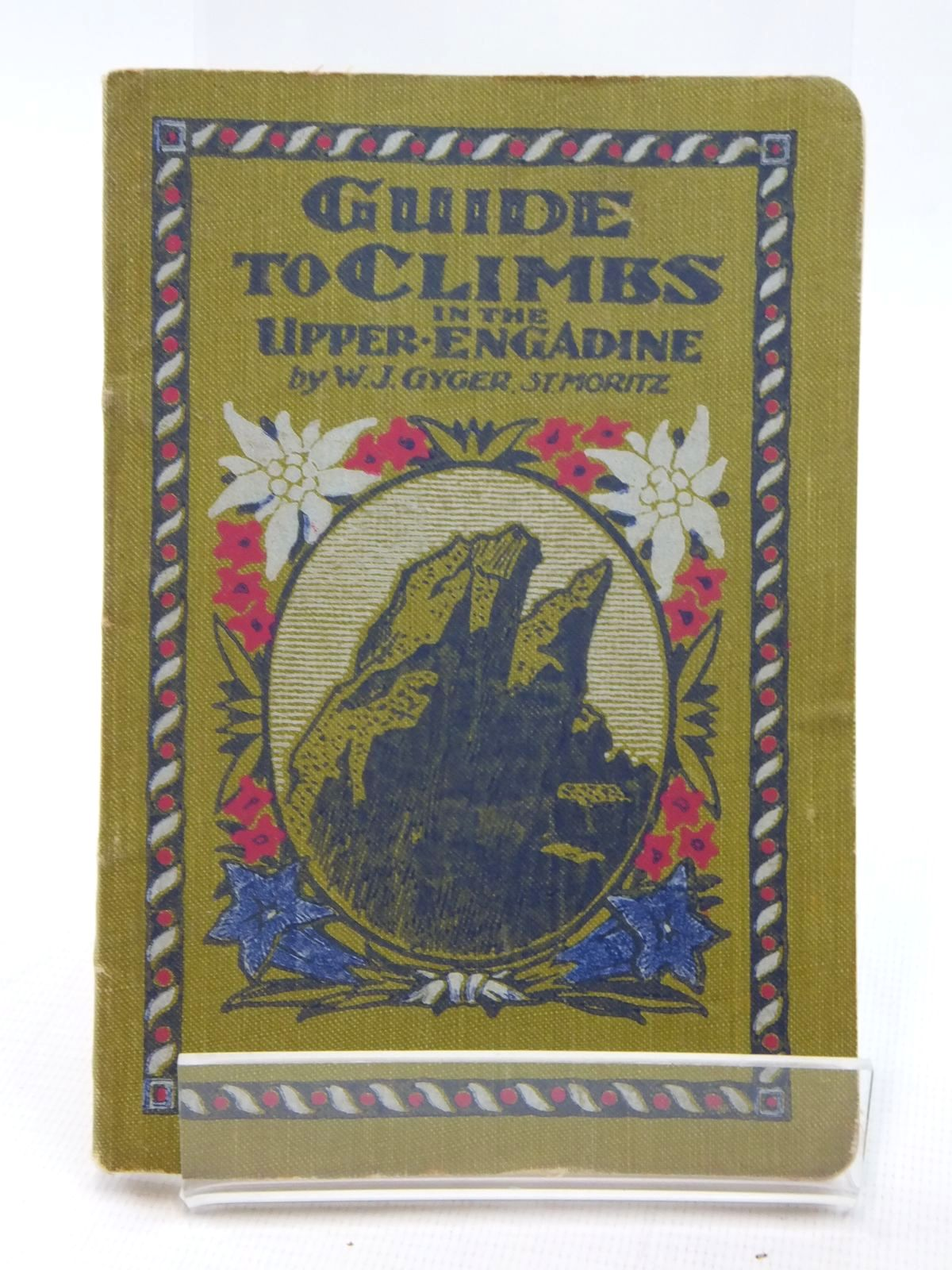 Photo of GUIDE TO CLIMBS IN THE UPPER ENGADINE- Stock Number: 1609593