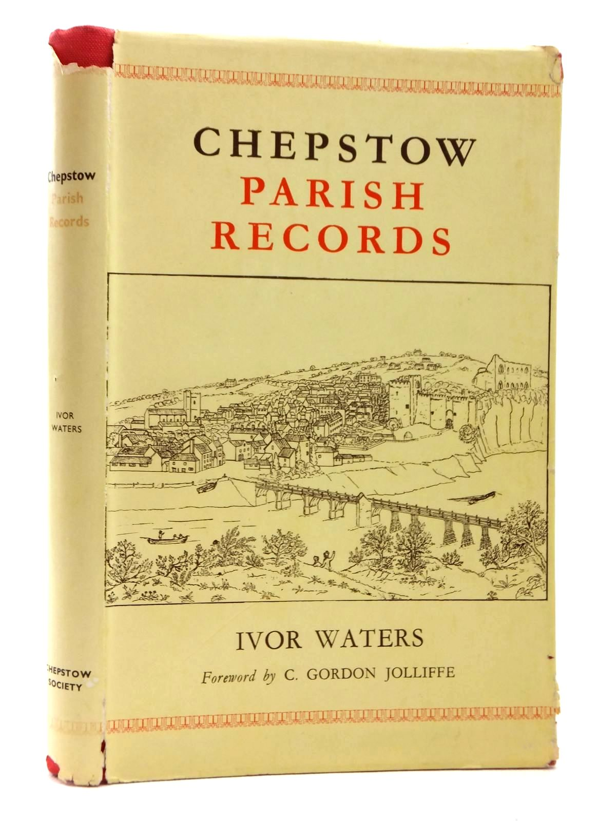 Photo of CHEPSTOW PARISH RECORDS written by Waters, Ivor published by The Chepstow Society (STOCK CODE: 1609603)  for sale by Stella & Rose's Books