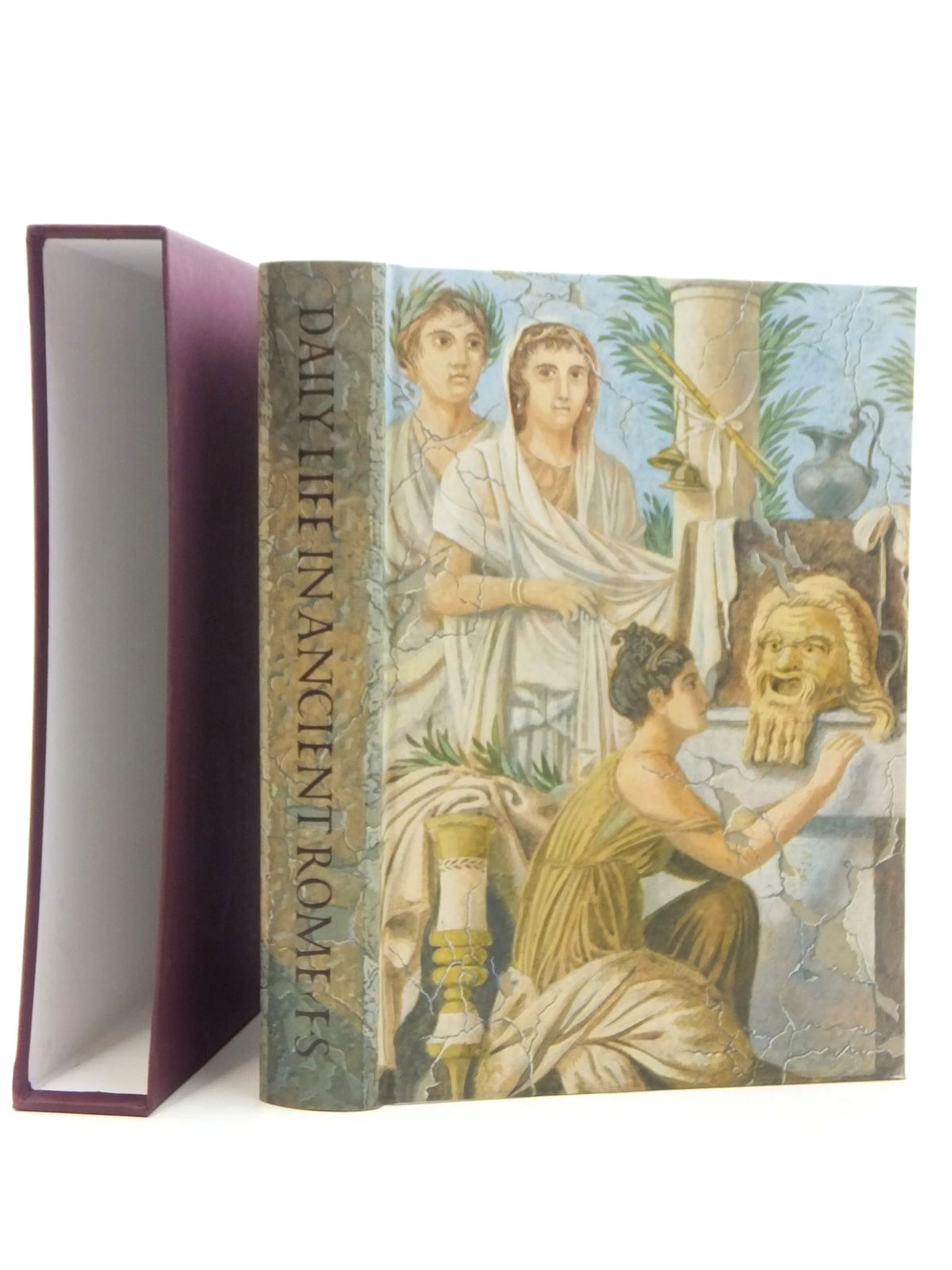 Photo of DAILY LIFE IN ANCIENT ROME written by Carcopino, Jerome Rowell, Henry T. Lorimer, E.O. published by Folio Society (STOCK CODE: 1609643)  for sale by Stella & Rose's Books