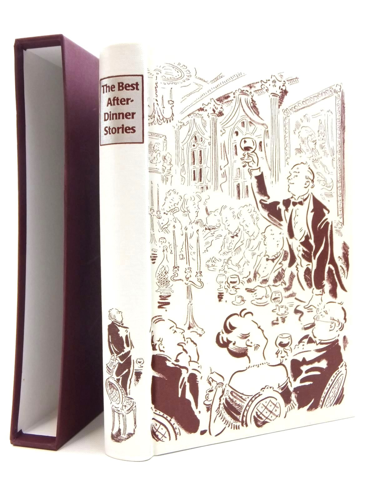 Photo of THE BEST AFTER-DINNER STORIES written by Heald, Tim illustrated by Cox, Paul published by Folio Society (STOCK CODE: 1609676)  for sale by Stella & Rose's Books