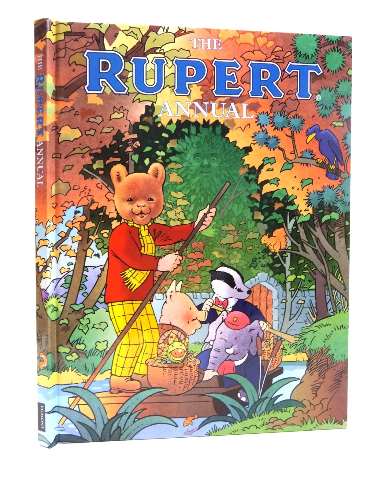 Photo of RUPERT ANNUAL 2016 written by Trotter, Stuart<br />Alperin, Mara<br />et al,  illustrated by Harrold, John<br />Bestall, Alfred<br />Trotter, Stuart<br />et al.,  published by Egmont Uk Limited (STOCK CODE: 1609743)  for sale by Stella & Rose's Books