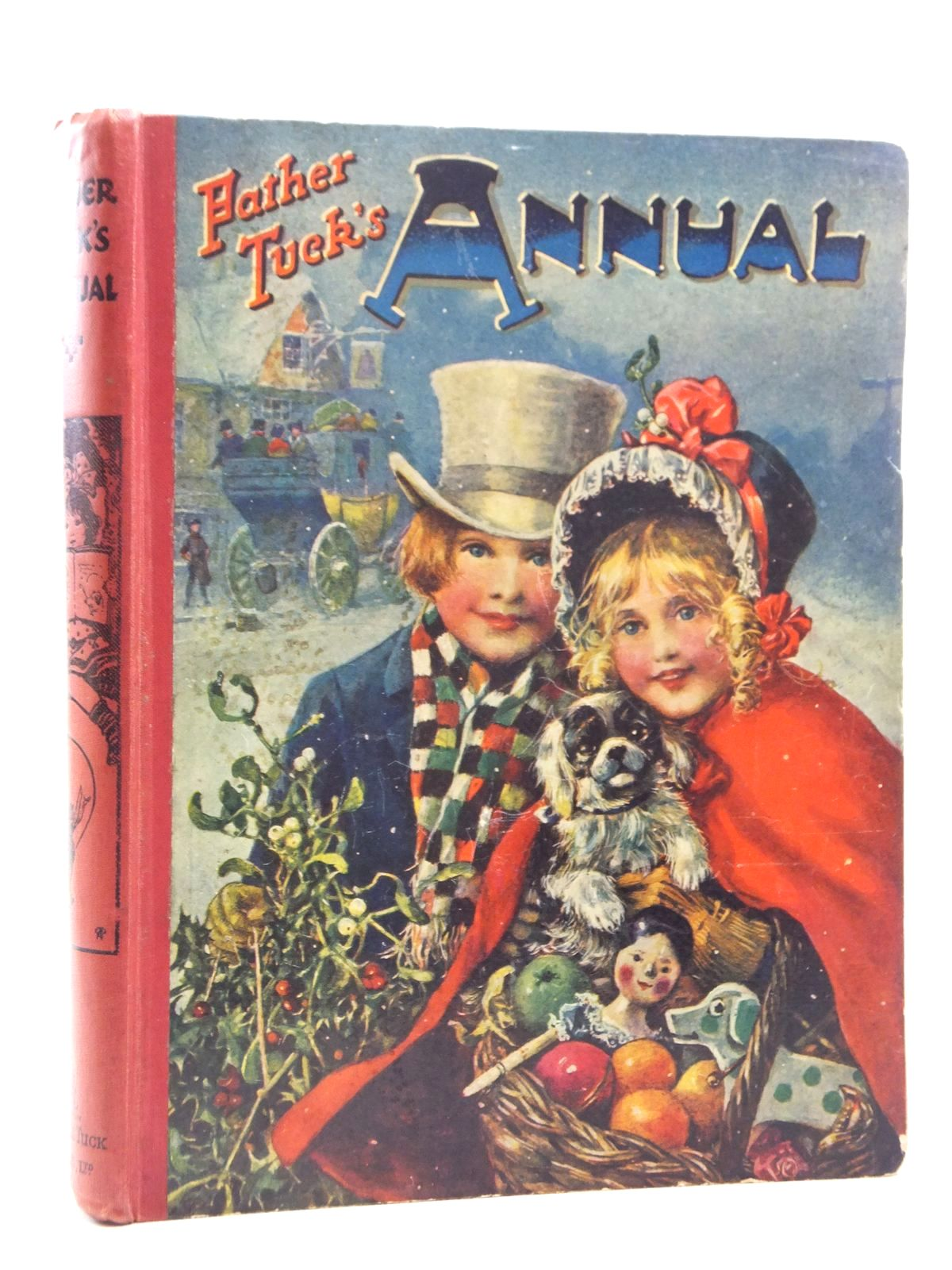 Photo of FATHER TUCK'S ANNUAL - 21ST YEAR written by Vredenburg, Edric Carruthers, M.I.K. Rutley, Cecily M. et al,  illustrated by Petherick, Rosa C. Peart, M.A. Cowham, Hilda Wain, Louis et al.,  published by Raphael Tuck & Sons Ltd. (STOCK CODE: 1609757)  for sale by Stella & Rose's Books