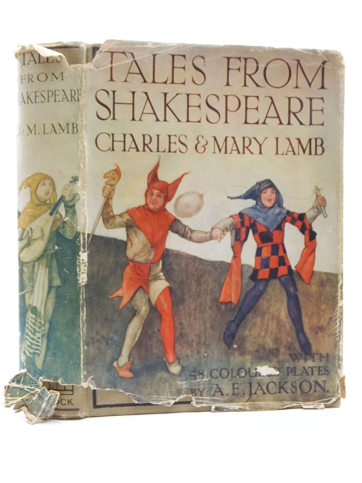 Photo of TALES FROM SHAKESPEARE written by Lamb, Charles<br />Lamb, Mary<br />Shakespeare, William illustrated by Jackson, A.E. published by Ward Lock &amp; Co Ltd. (STOCK CODE: 1609762)  for sale by Stella & Rose's Books