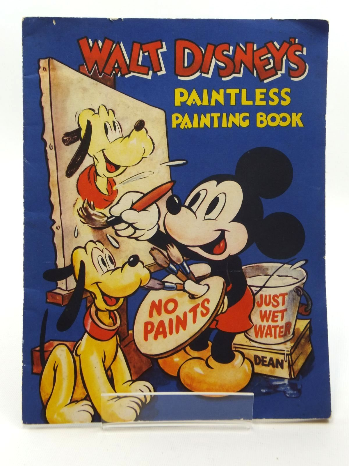 Photo of WALT DISNEY'S PAINTLESS PAINTING BOOK- Stock Number: 1609773