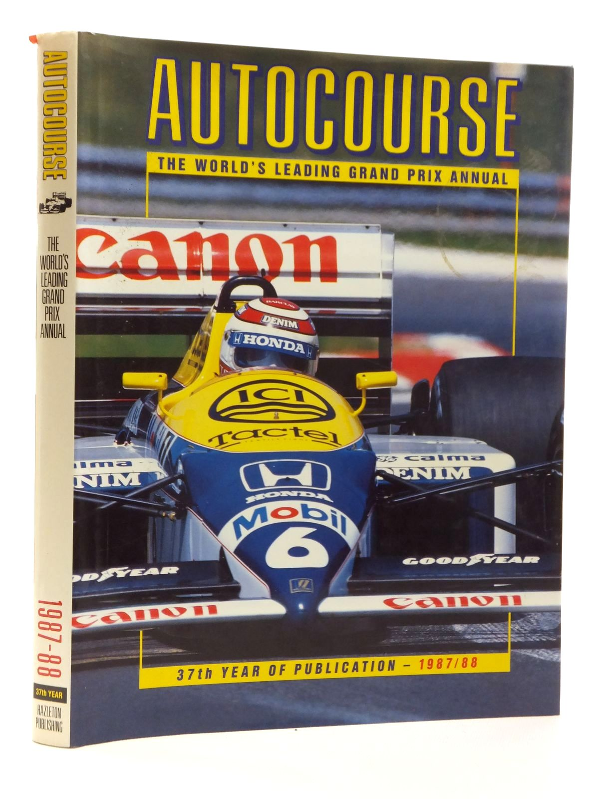 Photo of AUTOCOURSE 1987-88 written by Hamilton, Maurice published by Hazleton Publishing (STOCK CODE: 1609806)  for sale by Stella & Rose's Books
