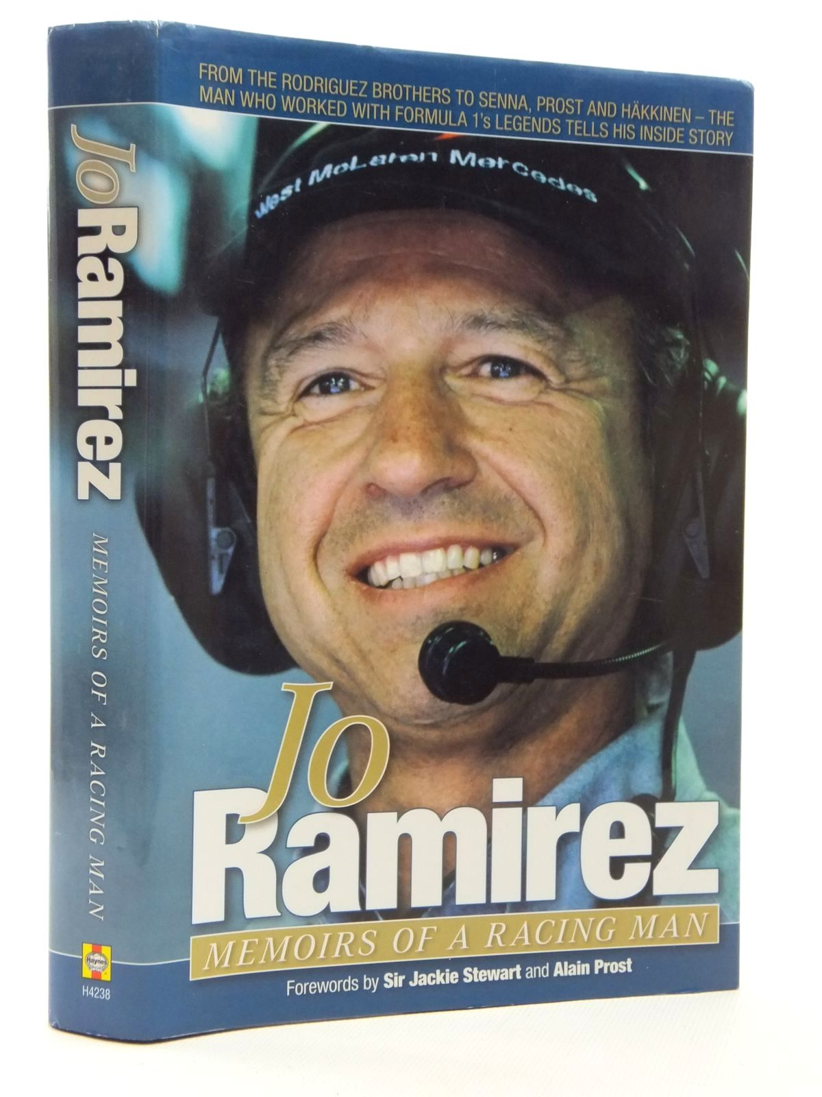 Photo of JO RAMIREZ MEMOIRS OF A RACING MAN written by Ramirez, Jo Stewart, Jackie Prost, Alain published by Haynes (STOCK CODE: 1609897)  for sale by Stella & Rose's Books