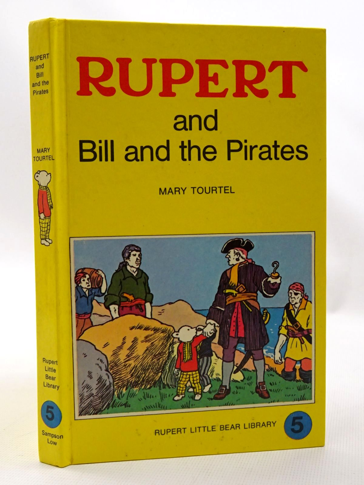 Photo of RUPERT AND BILL AND THE PIRATES - RUPERT LITTLE BEAR LIBRARY No. 5 (WOOLWORTH)- Stock Number: 1610118