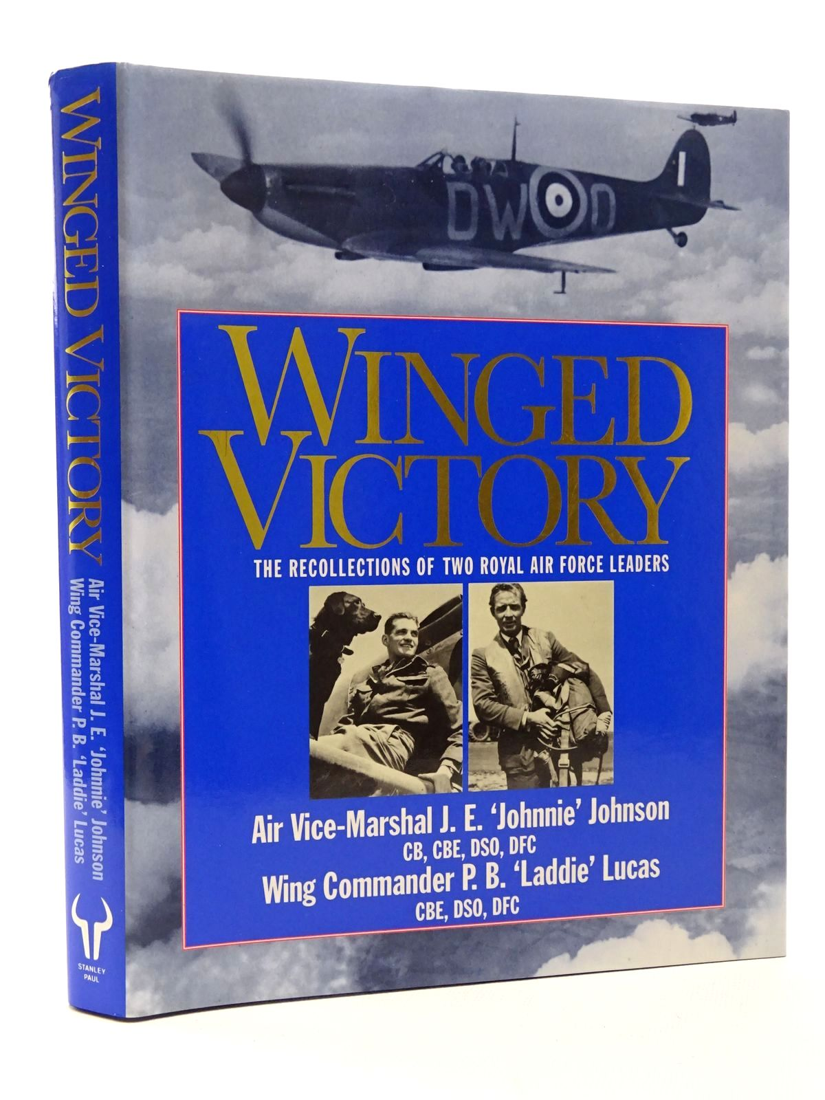 Photo of WINGED VICTORY written by Johnson, Johnnie Lucas, P.B. published by Stanley Paul (STOCK CODE: 1610150)  for sale by Stella & Rose's Books