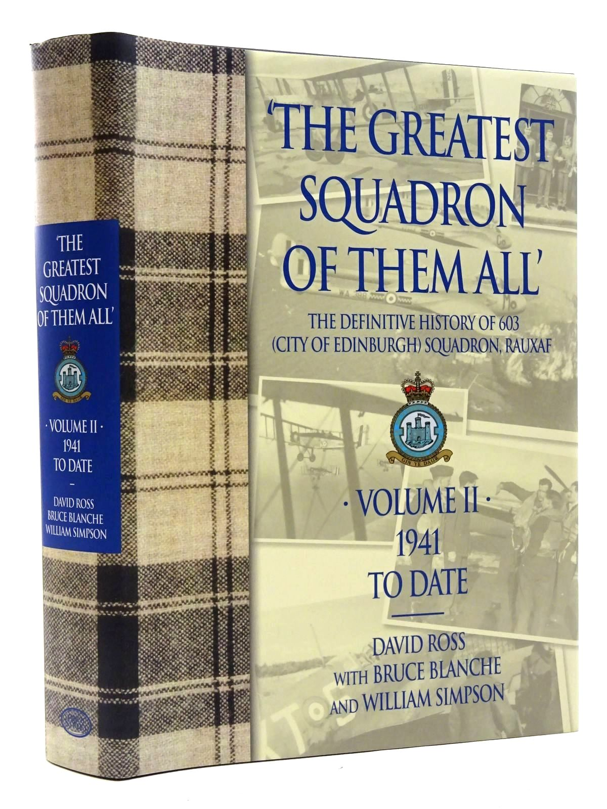 Photo of THE GREATEST SQUADRON OF THEM ALL VOLUME II written by Ross, David