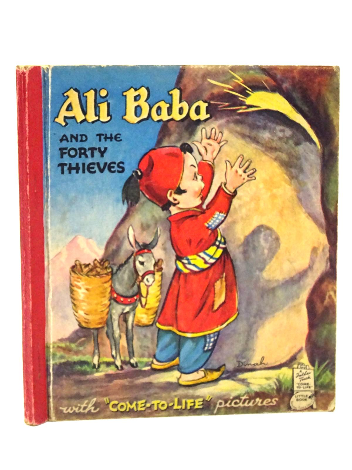 Photo of ALI BABA AND THE FORTY THIEVES illustrated by Dinah,  published by Raphael Tuck & Sons (STOCK CODE: 1610251)  for sale by Stella & Rose's Books