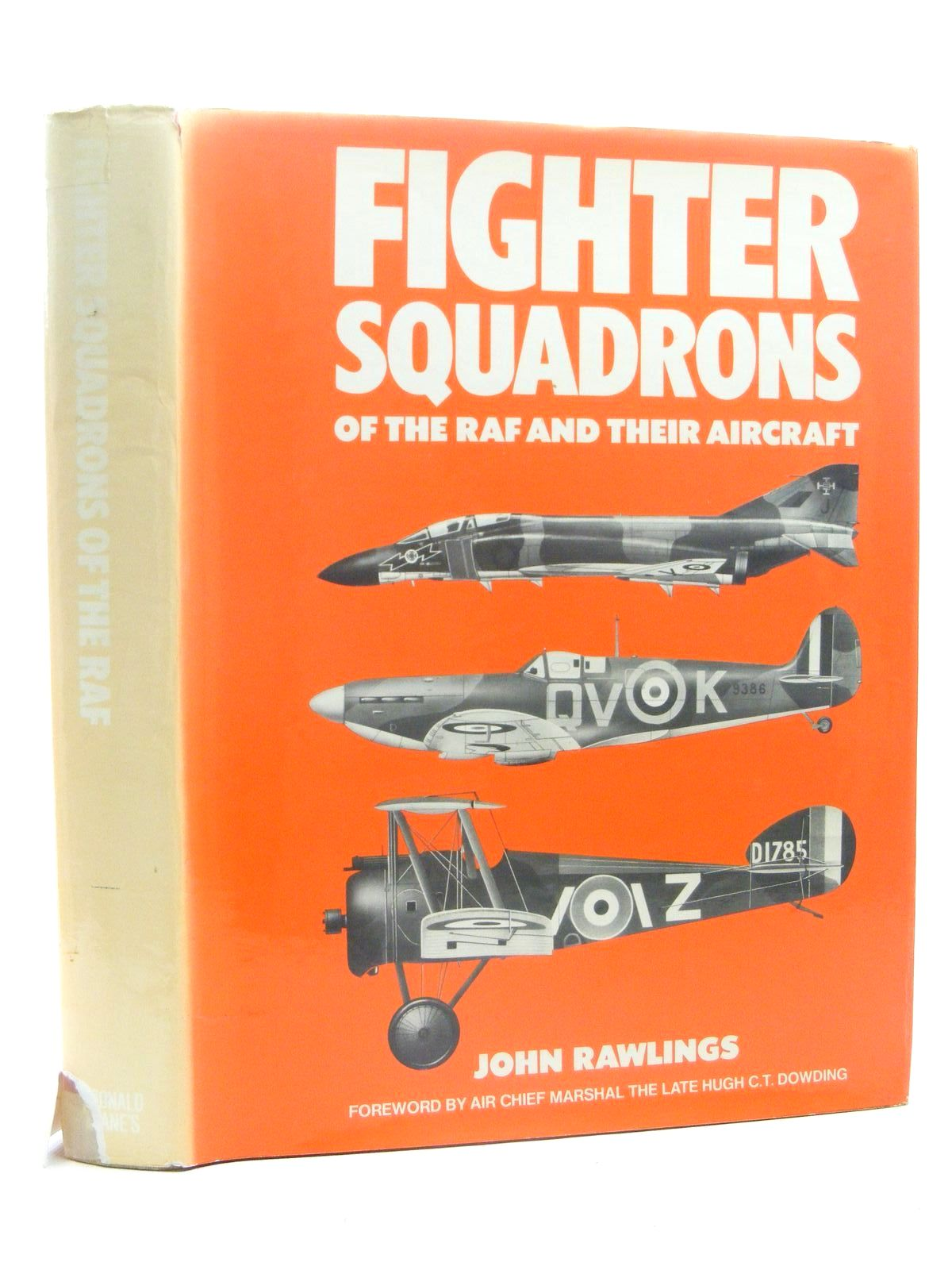 Photo of FIGHTER SQUADRONS OF THE R.A.F. AND THEIR AIRCRAFT written by Rawlings, John D.R. published by Macdonald & Jane's (publishers) Ltd (STOCK CODE: 1610299)  for sale by Stella & Rose's Books
