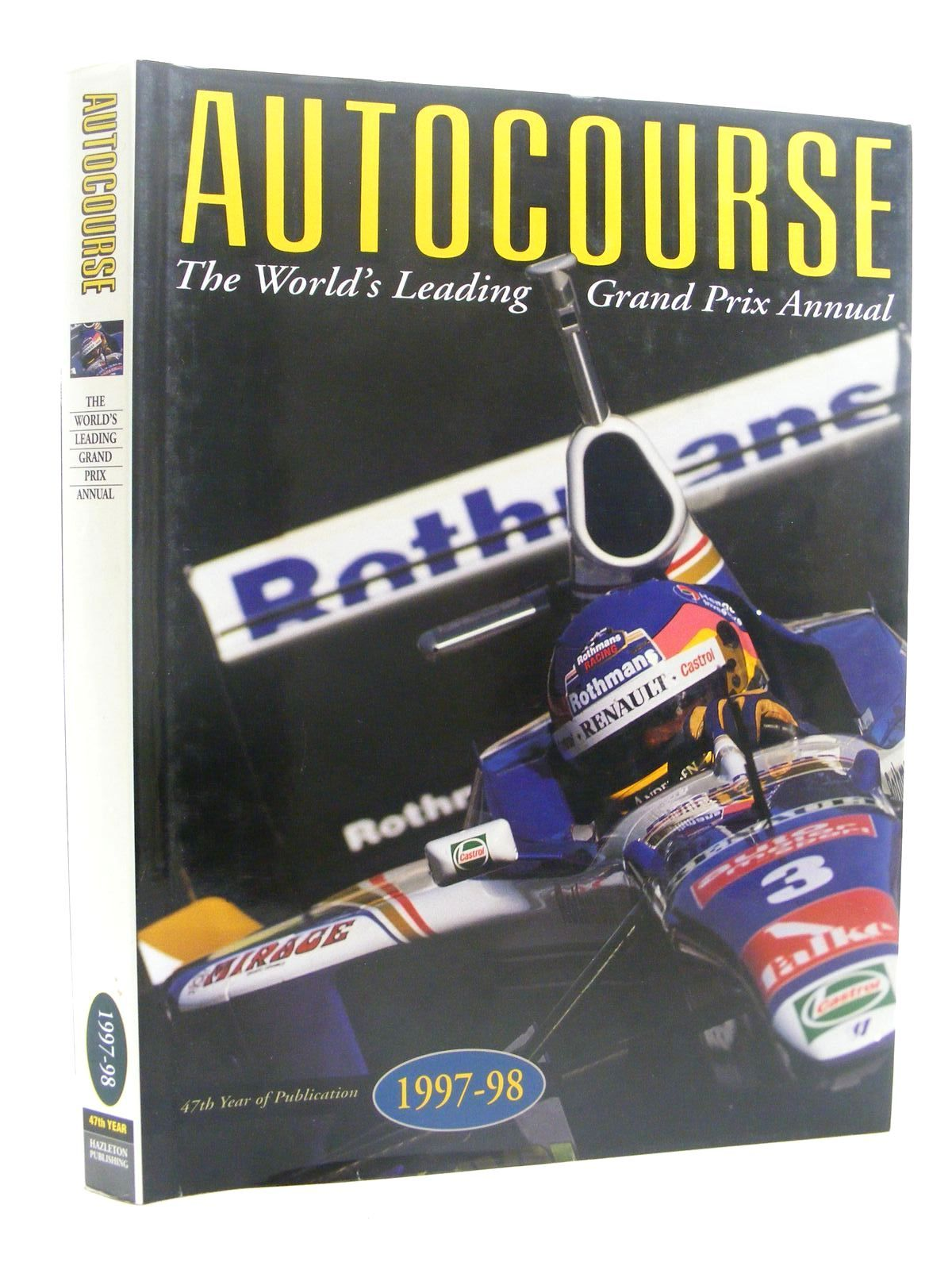 Photo of AUTOCOURSE 1997-1998 written by Henry, Alan published by Hazleton Publishing (STOCK CODE: 1610349)  for sale by Stella & Rose's Books