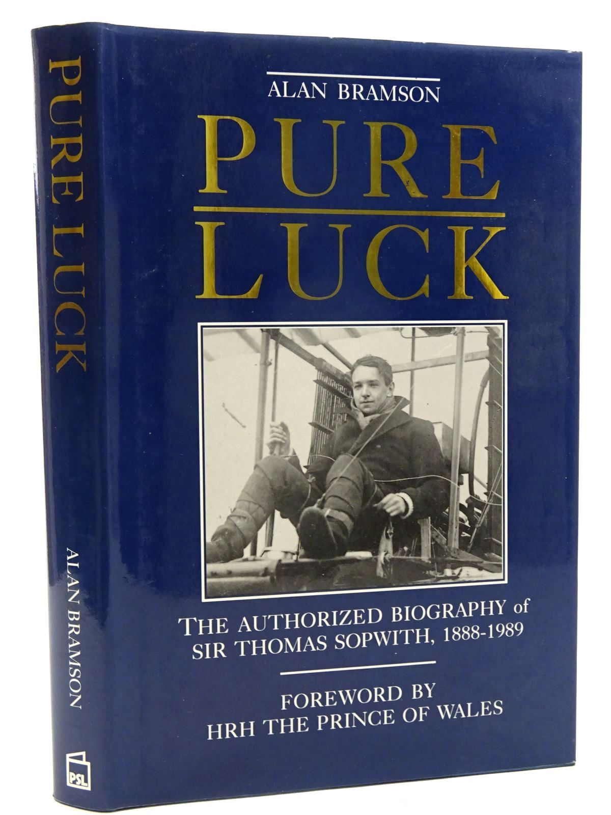 Photo of PURE LUCK written by Bramson, A. published by Patrick Stephens Limited (STOCK CODE: 1610453)  for sale by Stella & Rose's Books