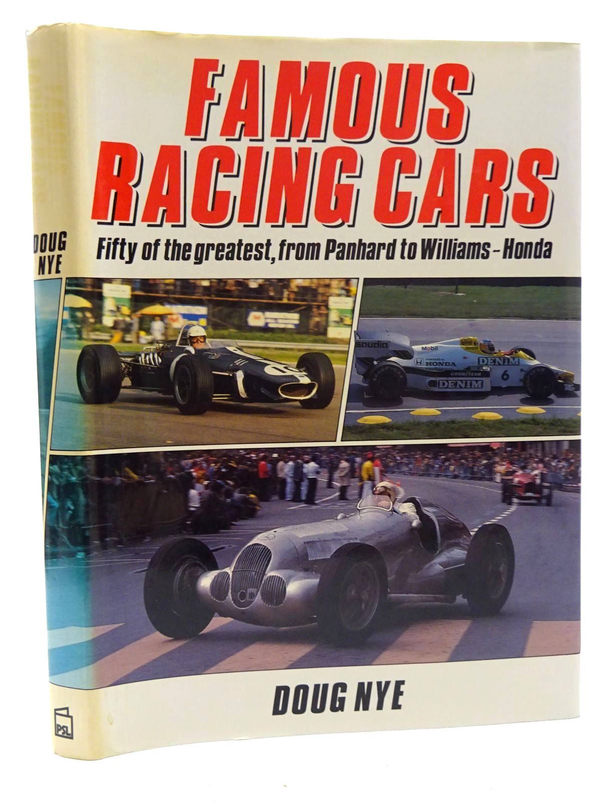 Photo of FAMOUS RACING CARS written by Nye, Doug published by Patrick Stephens Limited (STOCK CODE: 1610469)  for sale by Stella & Rose's Books