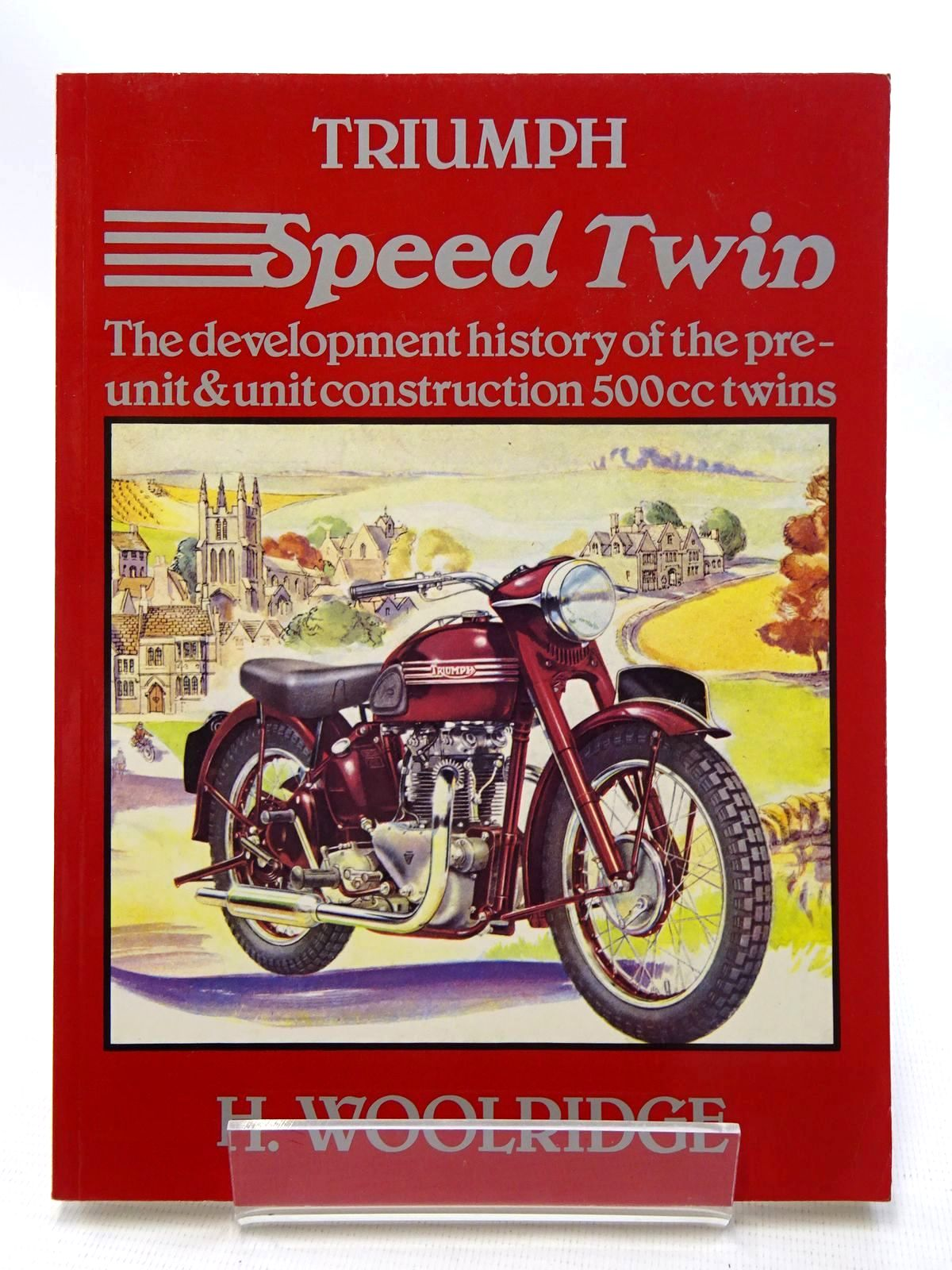 Photo of TRIUMPH SPEED TWIN written by Woolridge, H. published by Haynes Publishing Group (STOCK CODE: 1610537)  for sale by Stella & Rose's Books