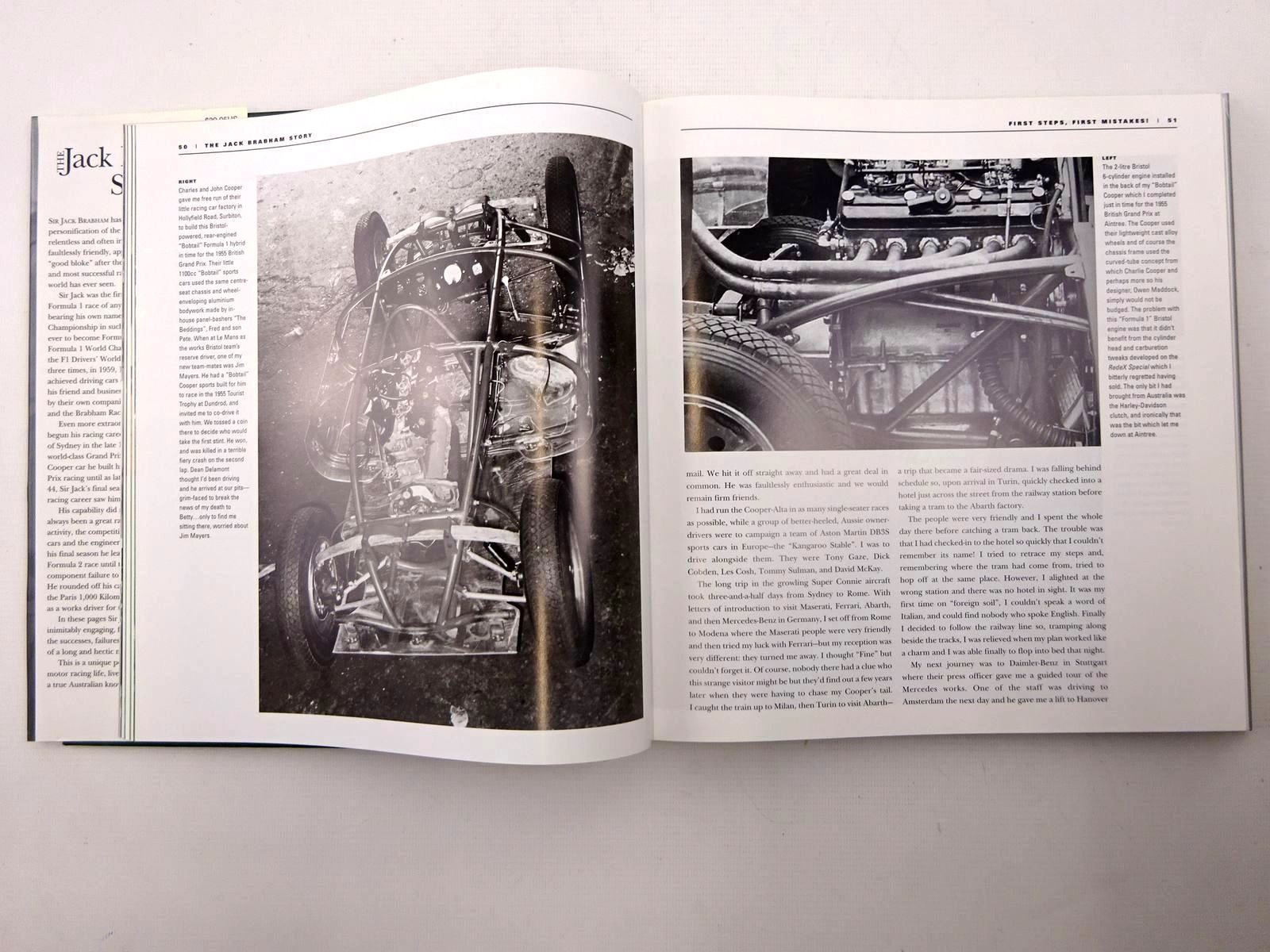 Photo of THE JACK BRABHAM STORY written by Brabham, Jack<br />Nye, Doug published by Motorbooks International (STOCK CODE: 1610548)  for sale by Stella & Rose's Books