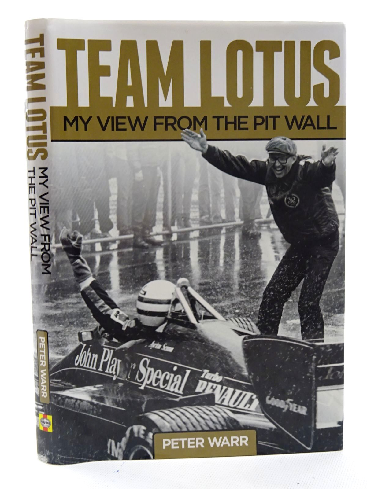 Photo of TEAM LOTUS MY VIEW FROM THE PIT WALL written by Warr, Peter