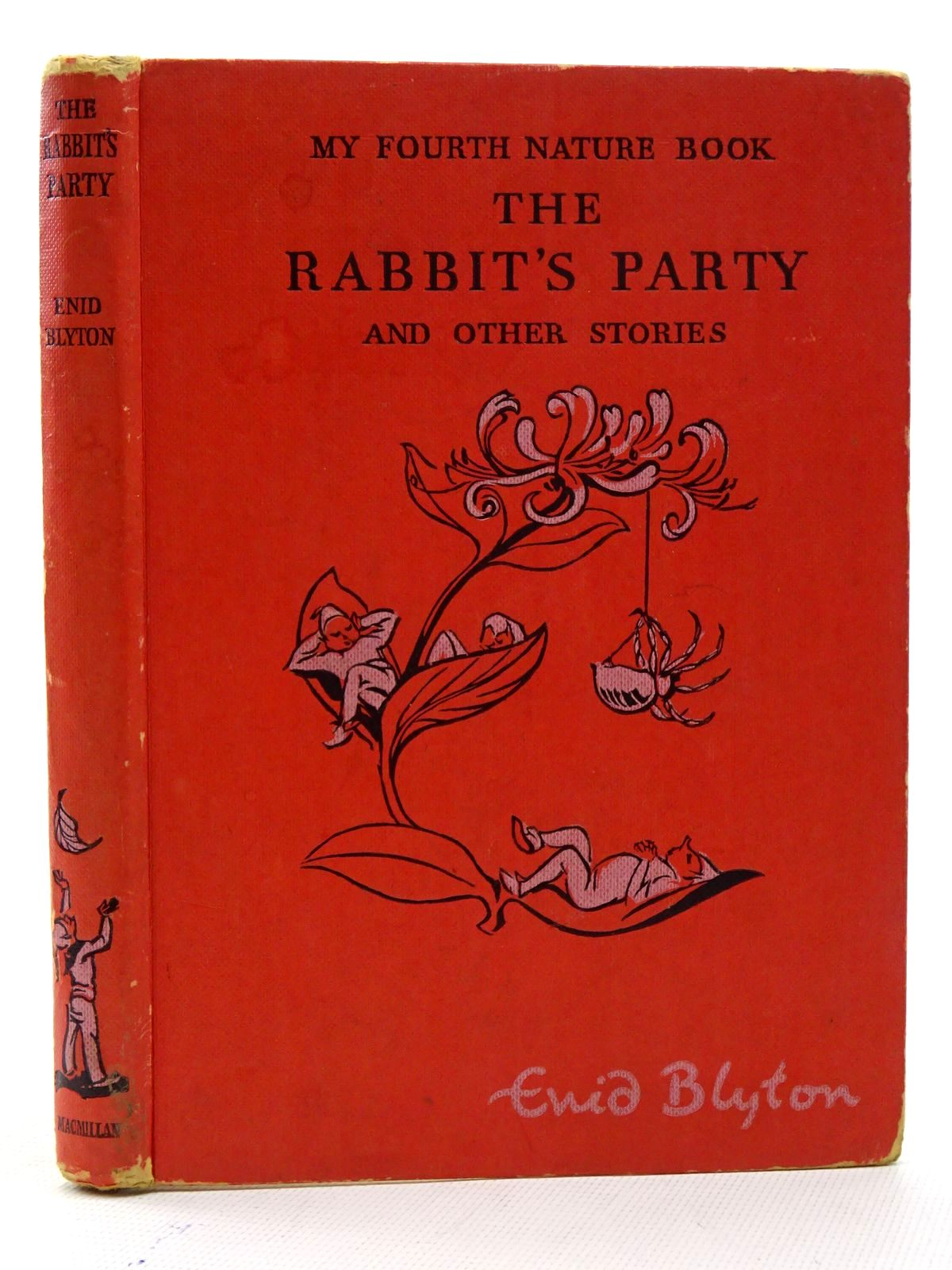 Photo of THE RABBIT'S PARTY AND OTHER STORIES - MY FOURTH NATURE BOOK written by Blyton, Enid illustrated by Soper, Eileen published by Macmillan & Co. Ltd. (STOCK CODE: 1610622)  for sale by Stella & Rose's Books