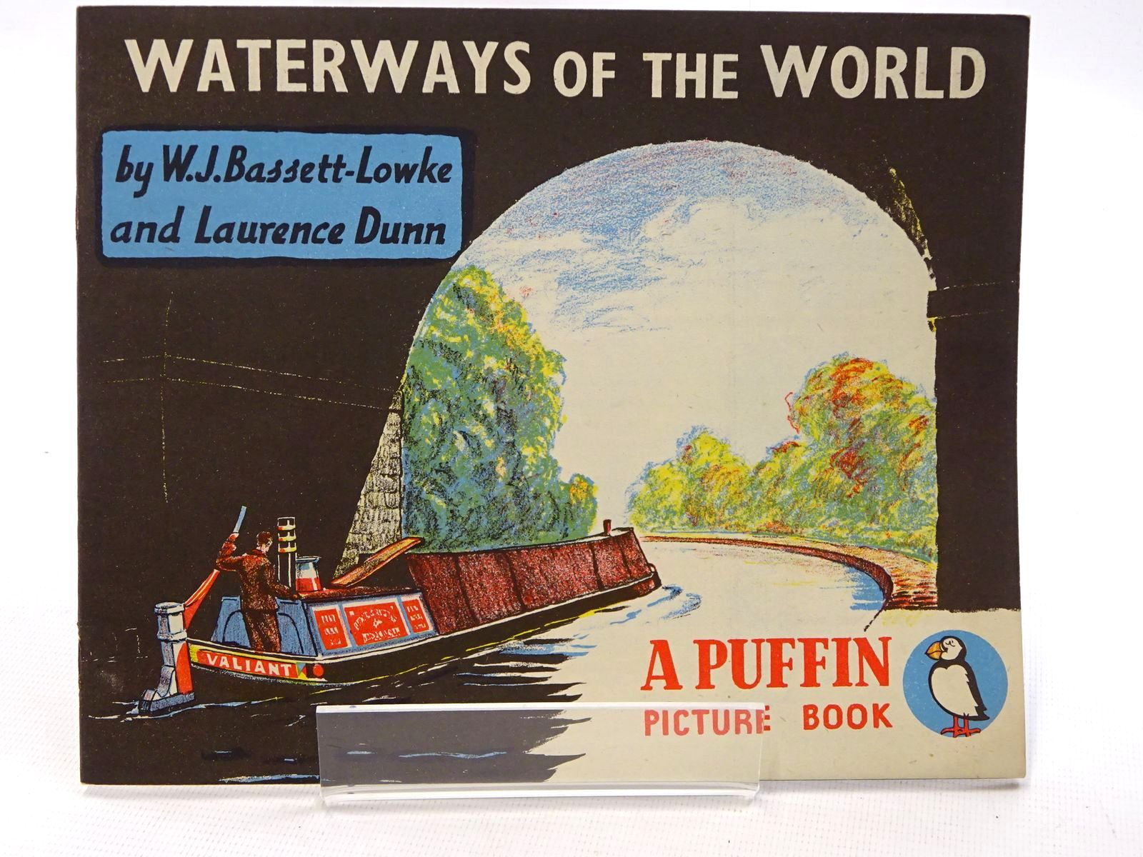 Photo of WATERWAYS OF THE WORLD written by Bassett-Lowke, W.J. illustrated by Dunn, Laurence published by Penguin Books (STOCK CODE: 1610636)  for sale by Stella & Rose's Books