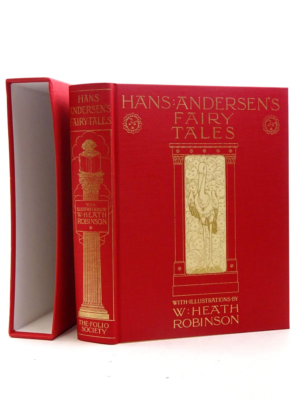 Photo of HANS ANDERSEN'S FAIRY TALES written by Andersen, Hans Christian illustrated by Robinson, W. Heath published by Folio Society (STOCK CODE: 1610695)  for sale by Stella & Rose's Books