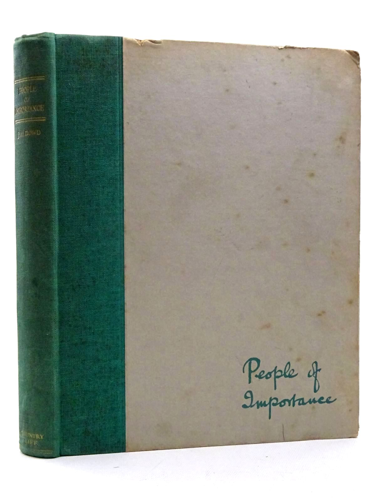 Photo of PEOPLE OF IMPORTANCE written by Spender, Brenda E. illustrated by Dowd, J.H. published by Country Life Limited (STOCK CODE: 1610697)  for sale by Stella & Rose's Books