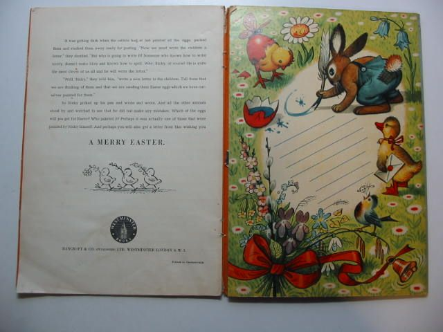 Photo of RICKY THE RABBIT illustrated by Kubasta, Vojtech published by Bancroft & Co.(Publishers) Ltd. (STOCK CODE: 1701043)  for sale by Stella & Rose's Books