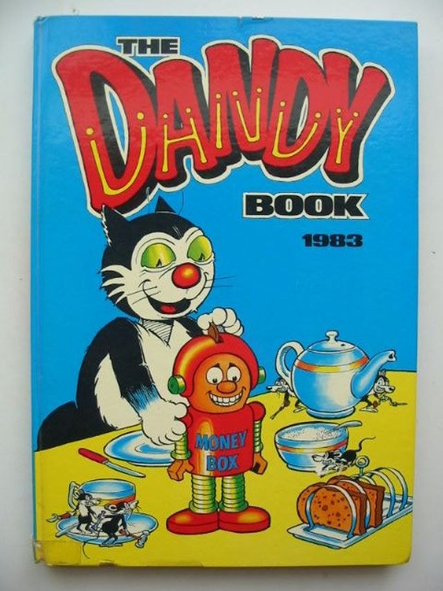 Photo of THE DANDY BOOK 1983 published by D.C. Thomson & Co Ltd. (STOCK CODE: 1701479)  for sale by Stella & Rose's Books
