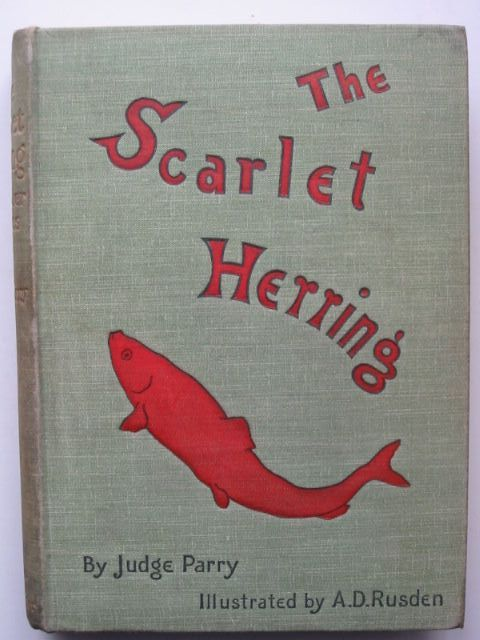 Photo of THE SCARLET HERRING written by Parry, Edward Abbott illustrated by Rusden, A. D. published by Smith, Elder & Co. (STOCK CODE: 1701519)  for sale by Stella & Rose's Books