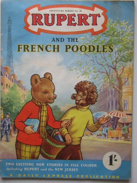 Photo of RUPERT ADVENTURE SERIES No. 25 - RUPERT AND THE FRENCH POODLES written by Bestall, Alfred published by Daily Express (STOCK CODE: 1701597)  for sale by Stella & Rose's Books