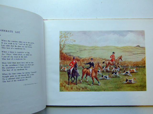 Photo of OLD HUNTING RHYMES AND VERSES FROM HERE AND THERE written by Myddelton Richard,  illustrated by Myddelton, Richard published by A. Webster & Co. (STOCK CODE: 1702874)  for sale by Stella & Rose's Books