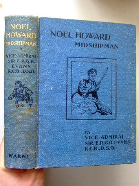 Photo of NOEL HOWARD MIDSHIPMAN written by Evans, E.R.G.R. illustrated by Cuneo,  published by Frederick Warne & Co Ltd. (STOCK CODE: 1703445)  for sale by Stella & Rose's Books