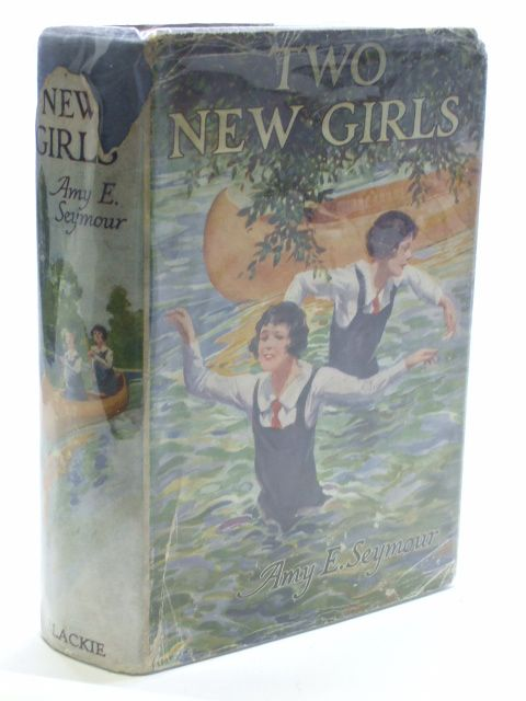 Photo of TWO NEW GIRLS written by Seymour, Amy E. illustrated by Mills, J. Dewar published by Blackie & Son Ltd. (STOCK CODE: 1704430)  for sale by Stella & Rose's Books