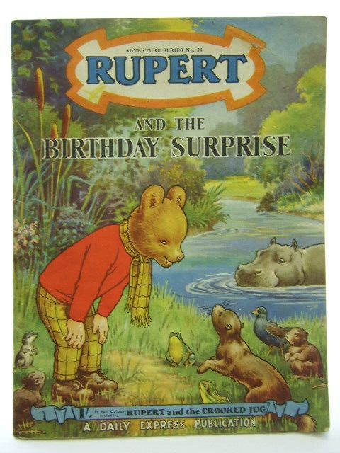 Photo of RUPERT ADVENTURE SERIES No. 24 - RUPERT AND THE BIRTHDAY SURPRISE written by Bestall, Alfred published by Daily Express (STOCK CODE: 1704568)  for sale by Stella & Rose's Books